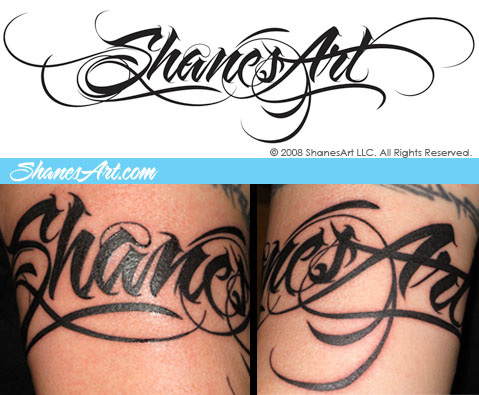 Pictures of Tattoo Fonts