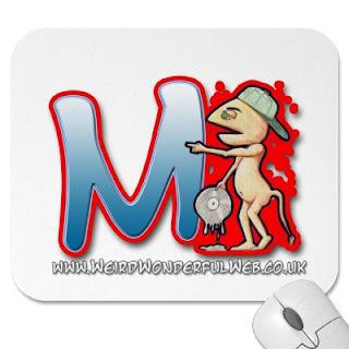 Graffiti Letters Alphabet M - Style M Design