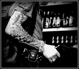 Tattoos sleeves design black