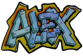 alex in graffiti tag names