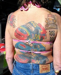 Lower back worst tattoos for girls