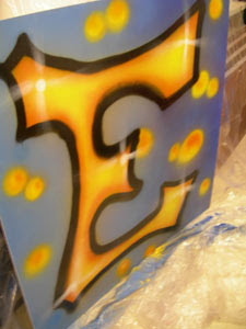 Graffiti Letters Alphabet E