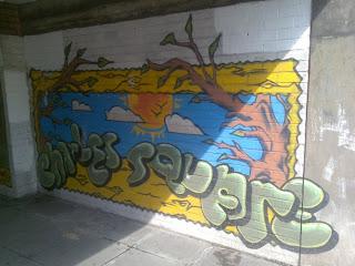 Street Graffiti design