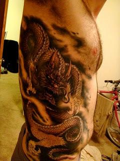 chinese dragon tattoos designs