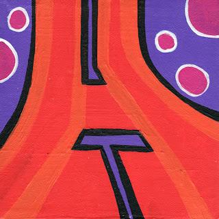 Graffiti alphabet Letters H