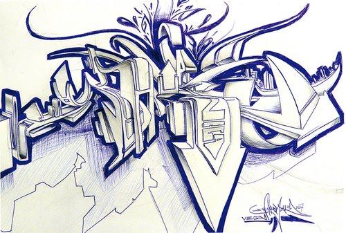 Graffiti pics and fonts wildstyle graffiti sketches 6 sketch blue white wildstyle graffiti sketches altavistaventures Image collections