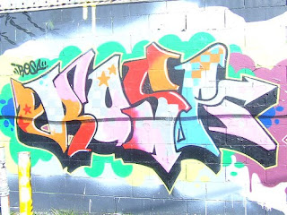 Graffiti Vannesa Alphabet Letters