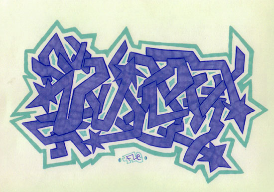 graffiti walls: Graffiti Vannesa Alphabet Letters Style Ideas