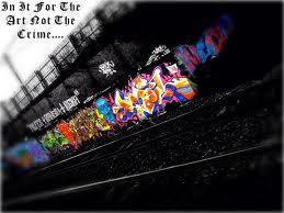 graffiti style street art