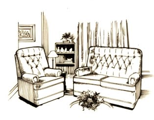 Modern Living Room Sketches new designs home interior: interior design drawing living room
