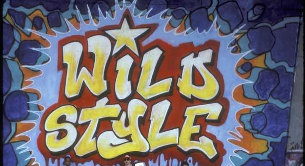 Graffiti fonts wildstyle quot yellow amp blue quot