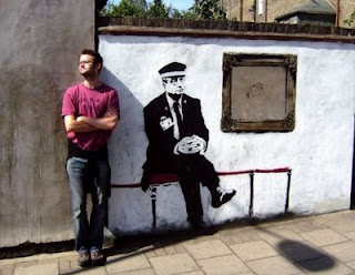 graffiti police banksy art design