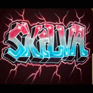 graffiti name skilva design