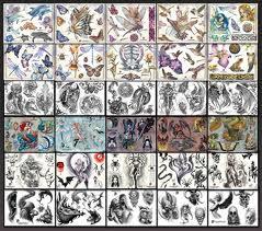 tattoo flash collection design ideas