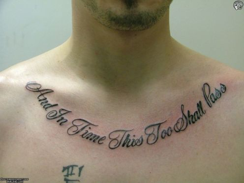 "tattoo quotes for men about life. Tattoos quotes about love "" Tattoo for girls and men """