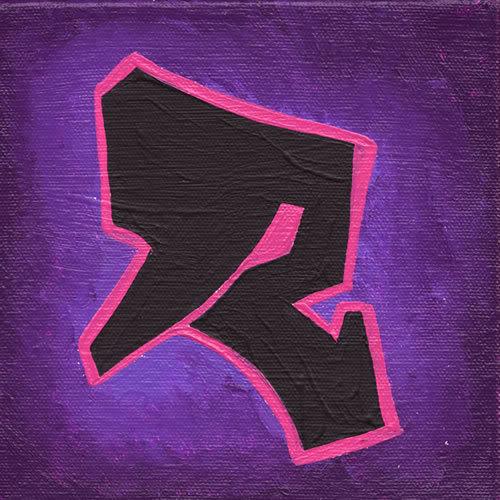 letter r in graffiti. letter r graffiti style.