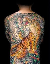 yakuzza tattoos gangsta design ideas