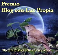 Premio Blog con Luz Propia