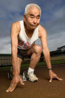 secret in okinawa, islands of okinawa,old runners, japannes runner, japan old runner