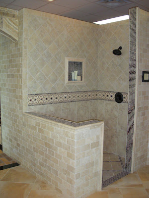 Tuscan Style Shower