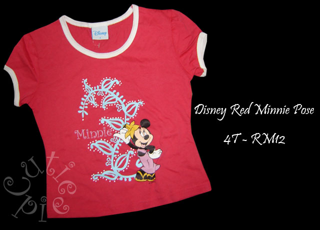 Disney Red Minnie Pose