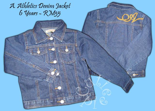 A. Athletics Denim Jacket