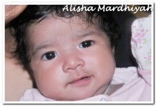 Alisha @ 1  Month