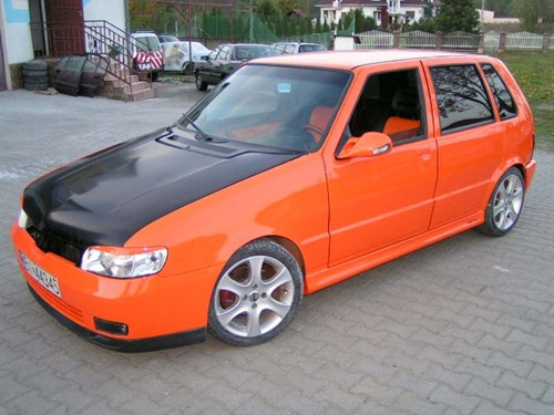 Fiat Uno Tuning Turbo Carros E Tuning
