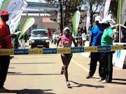 2010 KASS MARATHON ELDORET (magdaline mkunzi kass marathon champion competing the km race)