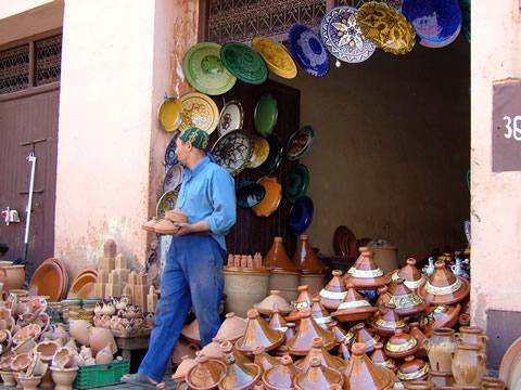 poterie du maroc