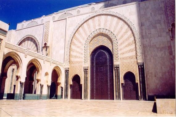 Porte mosqué hassan II,casablanca