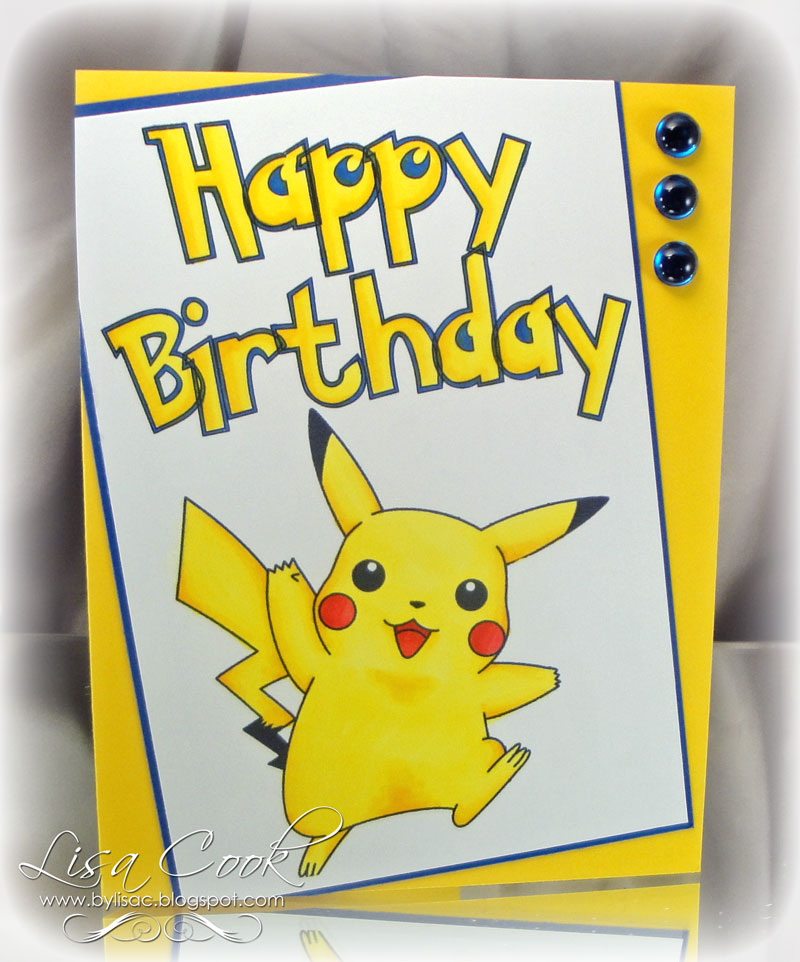 from crayons to copics card making ideas, free designs happy, Birthday card