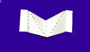 v fold pop up card
