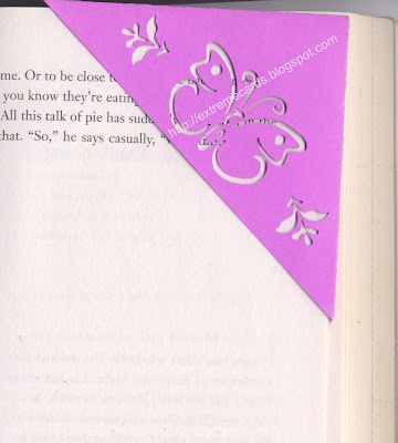 paper corner bookmark