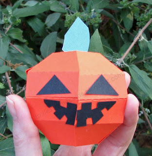 pop up pumpkin