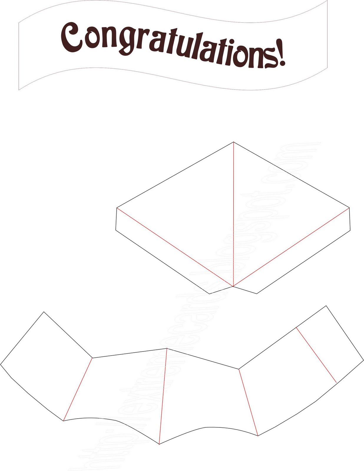 extreme cards and papercrafting graduation cap pop up With graduation pop up card template