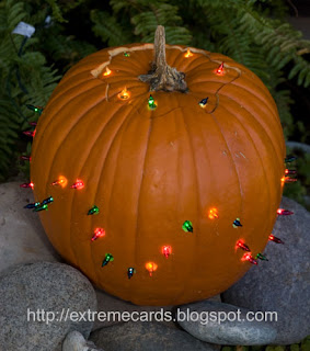 mini light pumpkin