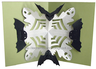 halloween kirigami