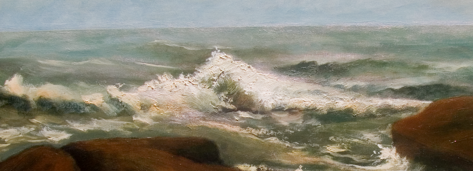 Connecticut watercolor artists directory - The Long Island Sound Is Usually Placid With A Gentle Ebb And Flow Of Tides Rippling Water And Baby Waves But During Our Recent Nor Easter Back In March