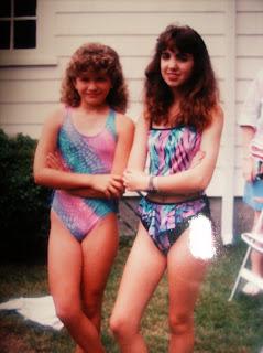 Bomber Girl Pool Side 1980s Chic