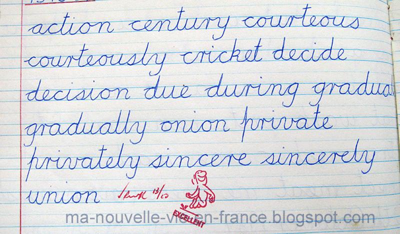 Ma Nouvelle Vie en France - My New Life in France: L'écriture ...