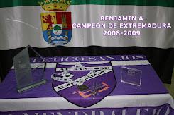 BENJAMIN A-CAMPEON DE EXTREMADURA