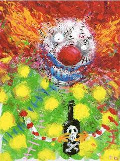 Obras de Arte TIM-BURTON-CLOWN