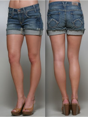 how to cut your jeans into shorts for guys
