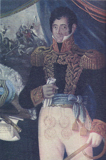 'don José Casimiro Rondeau Pereyra',(¿1829?),óleo de Gaetano Gallino (1804-1884)<br />del libro Historia del Uruguay de diario El Observador, extraído de wikiwak.com