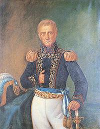 'Cornelio Judas Tadeo de Saavedra y Rodríguez',de B.Marcel (1860),Museo Histórico Nacional.Tomado de www.genealogiafamiliar.net