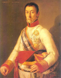'Francisco Javier De Elío,gobernador de Montevideo',de Vicente López Portaña.Museo Bellas Artes de Valencia.Tomada de www.wikipedia.org