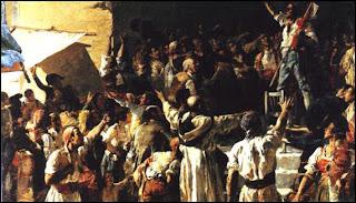 'Crit del Palleter'(el grito del Labrador)de don Joaquín Sorolla y Bastida, representando la rebelión española contra la ocupación francesa