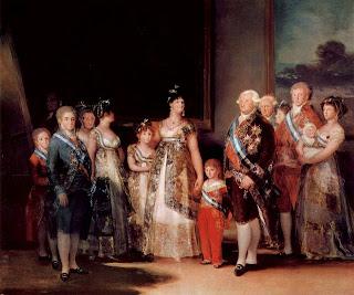 'La Sagrada Familia',(1800) por don Francisco de Goya y Lucientes. Museo del Prado. Tomado de wikipedia