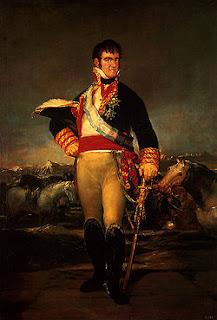 'Fernando VII', de Francisco de Goya.Museo Mun.Bellas Artes,Santander.Tomado de wikipedia